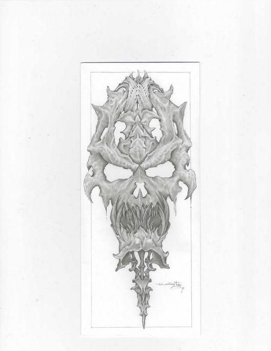 bone skull - d.cortez