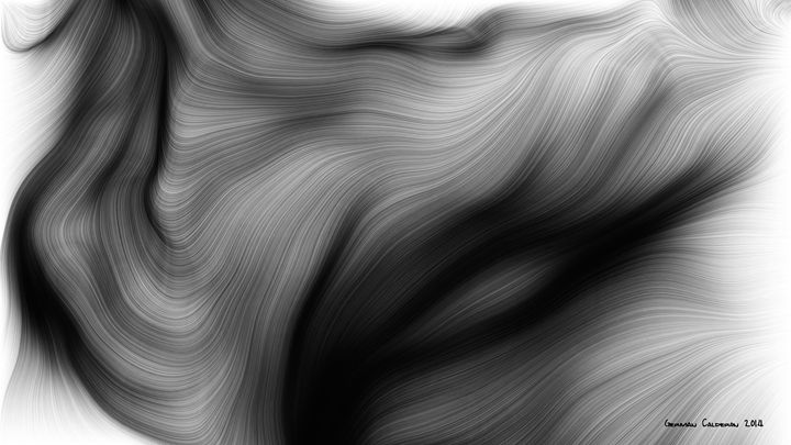 Digital Wild Hair 1 - Museum of Digital Fine Art