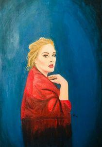 Adele Oil Paint Portrait