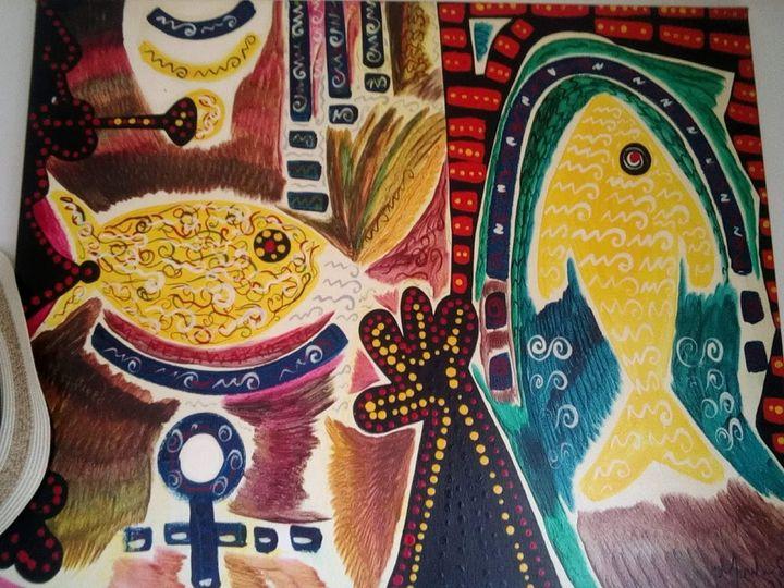 Fish, Menelaw Sete (original) - Private Collector