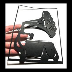 Phonograph | Papercut