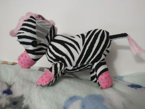 Plush Decorative Zebra