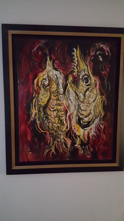 Men Sagan Art - Ryan Gabriel