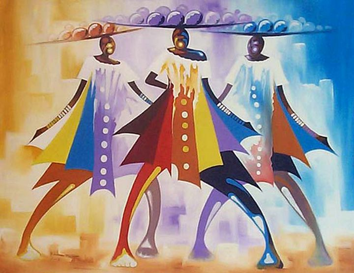 Colourful sellers - MD art studio