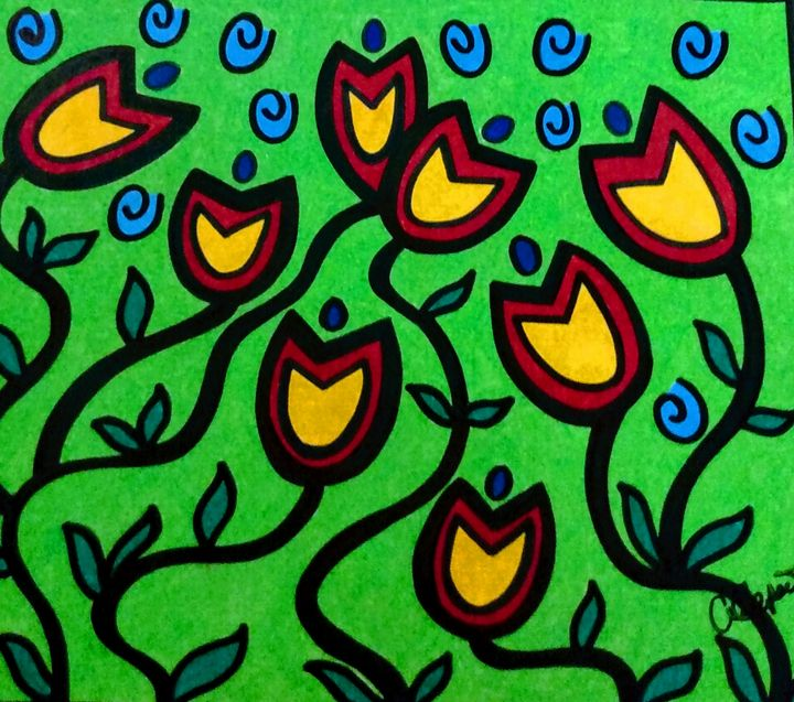 Dancing Tulips - Artistry by Alicia
