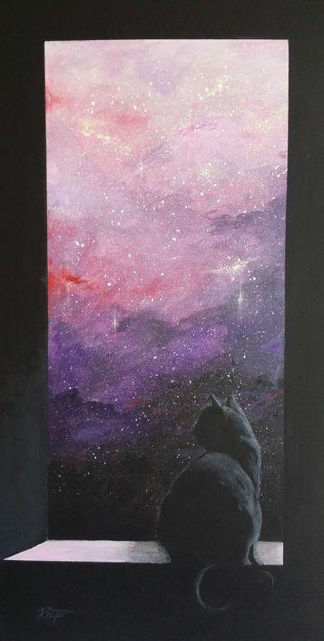 Tower Window - Tony Rector Art