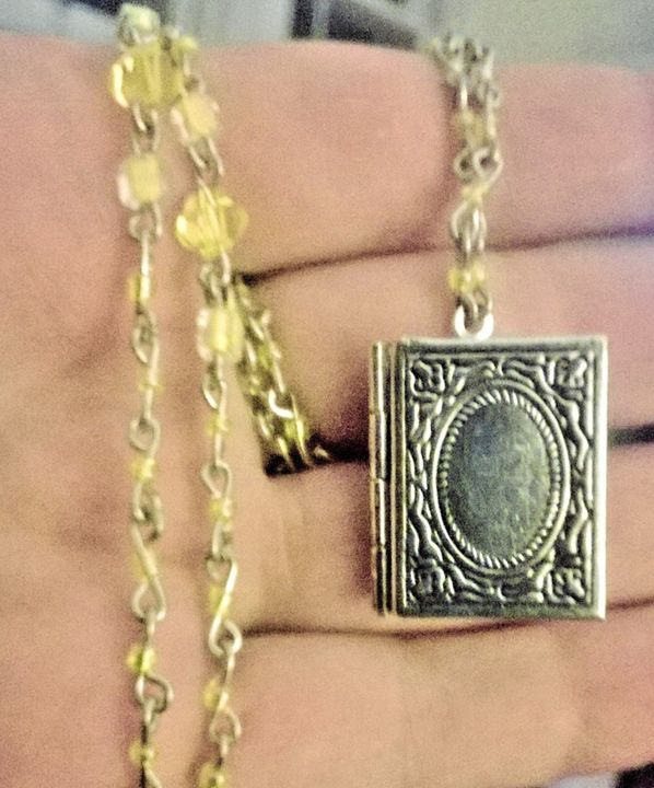 Locket Necklace - Work by Layla