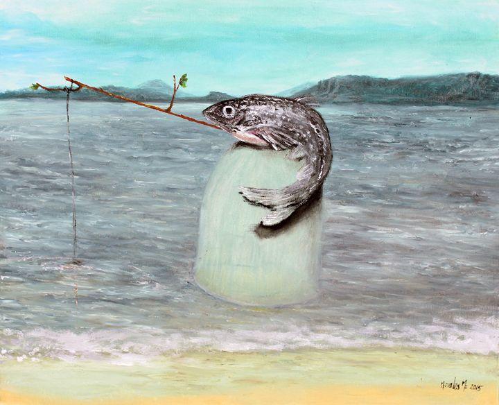 The Cannibal Fish - Francisco Morales Magri