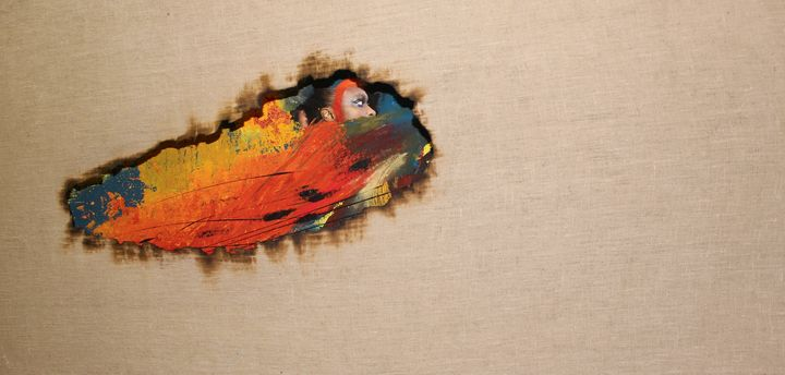 Coahoma ou panthere rouge - art-nathacha