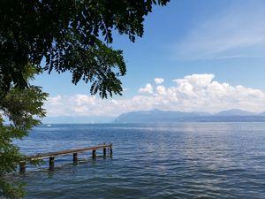The Leman lake