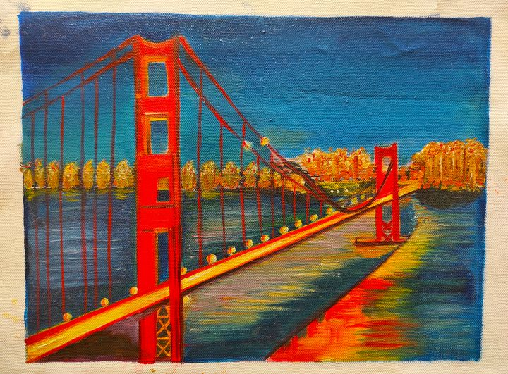 Landscape painting - Indira Rajesh