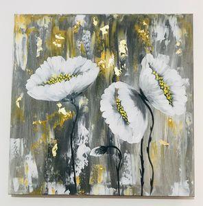 Large white flowers