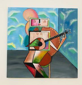 Guitars ( replica Ibrahim Kodra)
