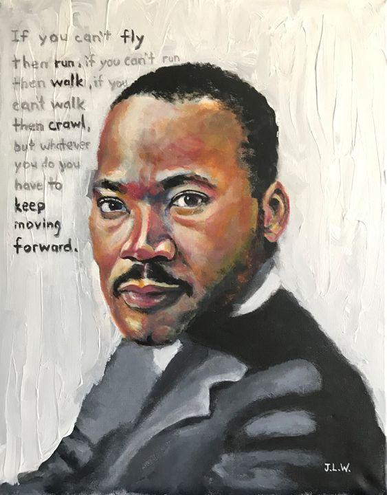 Keep Moving Forward - J. Williams