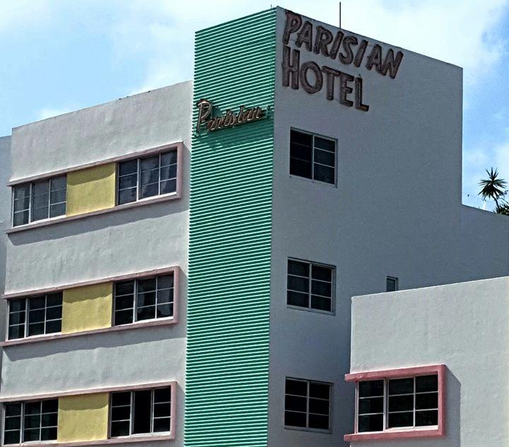 Parisian Hotel - South Beach, Miami Art