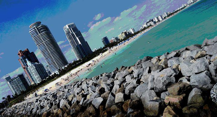 Wow! That's Miami Beach - South Beach, Miami Art