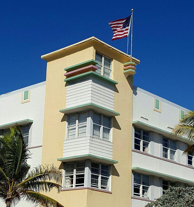 South Beach architecture - South Beach, Miami Art