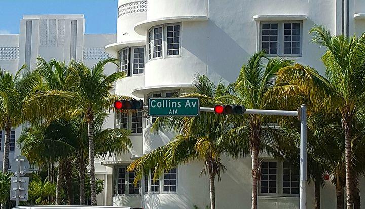 Walk on Collins - South Beach, Miami Art