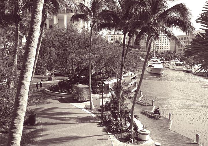 Las Olas Riverwalk - South Beach, Miami Art