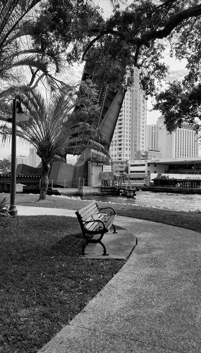 Riverwalk Bench - South Beach, Miami Art
