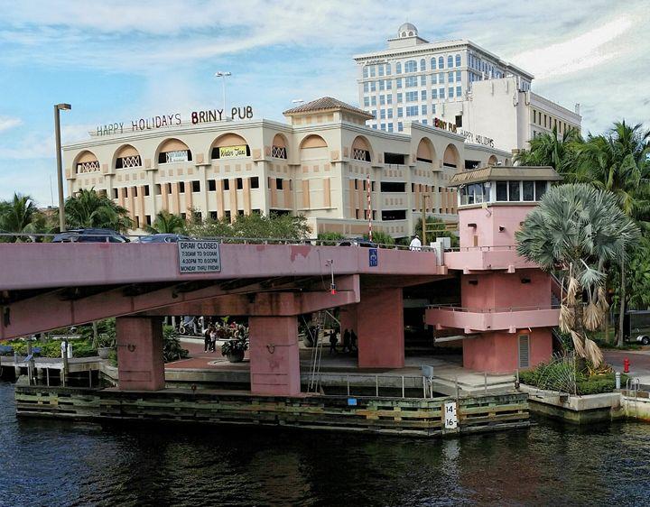 Andrews Avenue Bridge  (color) - South Beach, Miami Art