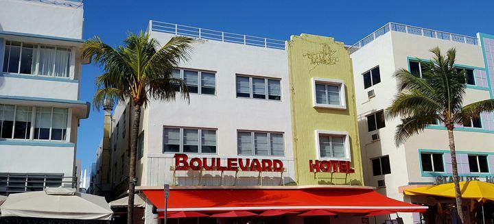 Boulevard Hotel - South Beach, Miami Art