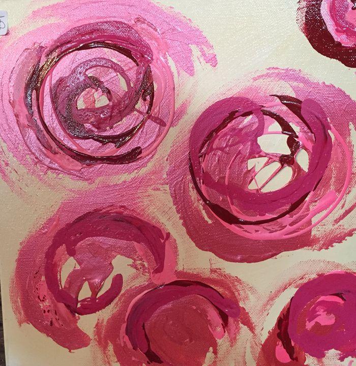Circles Circles - CeFaire Fine Art