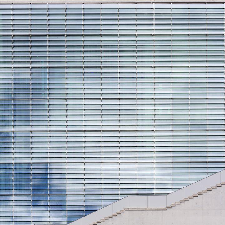 modern building facade, architecture - hanoh iki