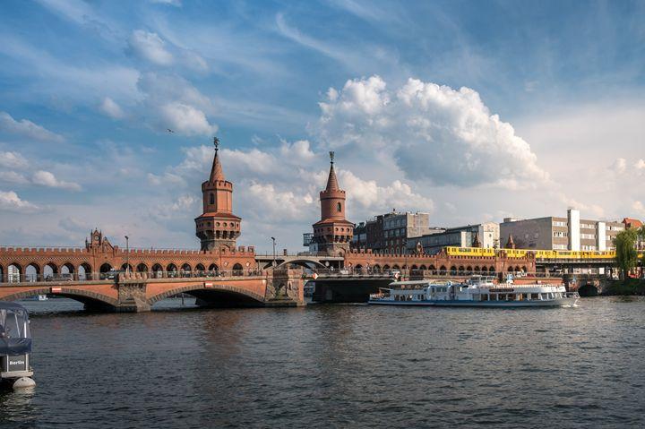 Oberbaum Bridge, Berlin - hanoh iki