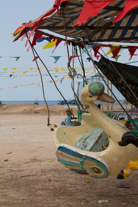 Animals -Vintage carousel (2/3) - hanoh iki
