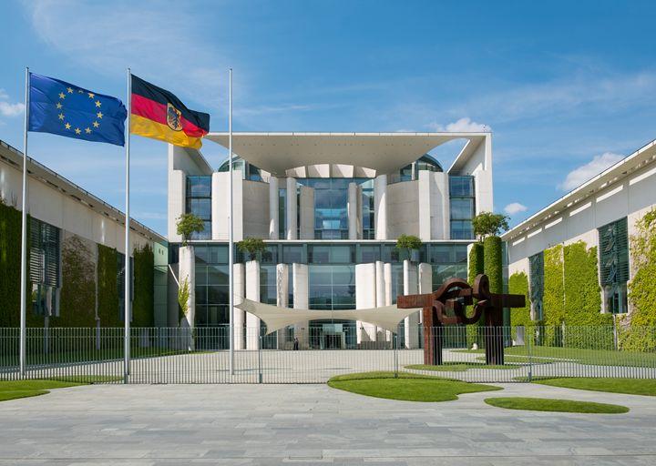 German Chancellery building, Berlin - hanoh iki