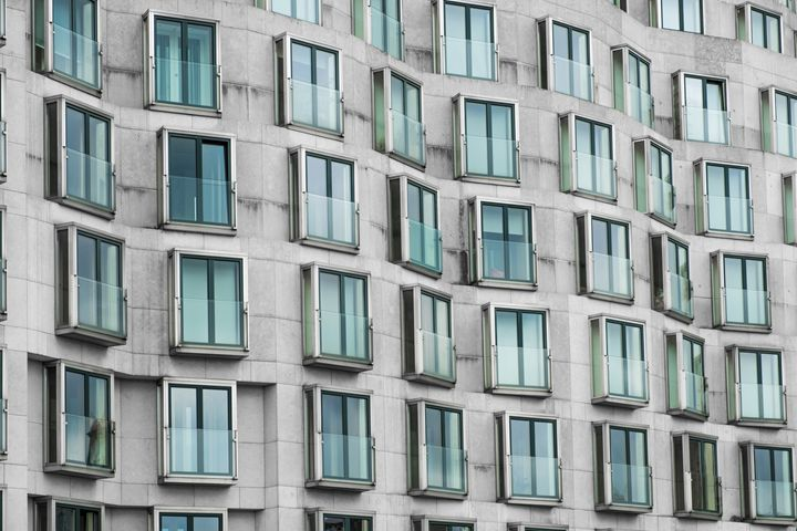 building facade modern architecture - hanoh iki