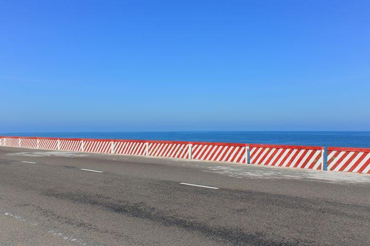 Ocean view Highway -Road Panorama - hanoh iki