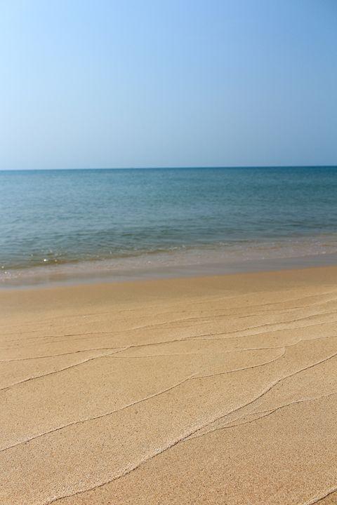Beach and Sky background - Vietnam - hanoh iki