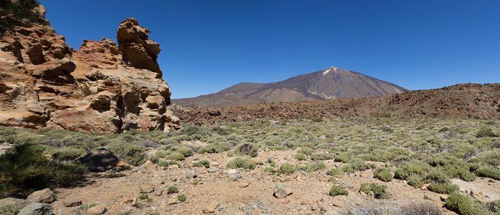Pico del Teide, Tenerife landscape - hanoh iki