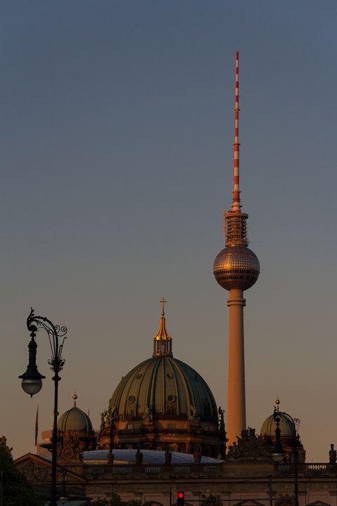 Berlin skyline - hanoh iki