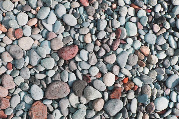 pebble stones - stone background - hanoh iki