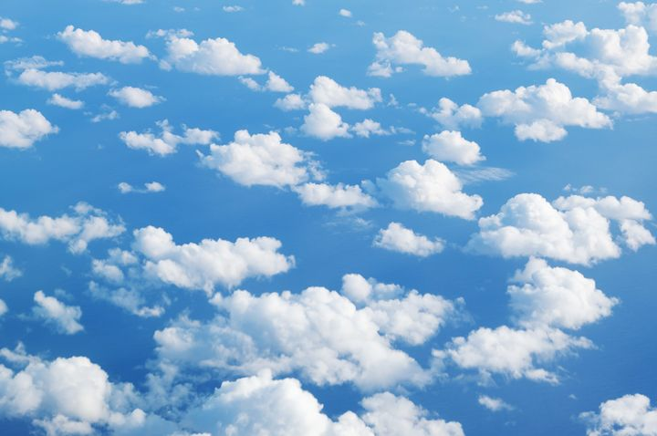 above the clouds - blue sky clouds - hanoh iki
