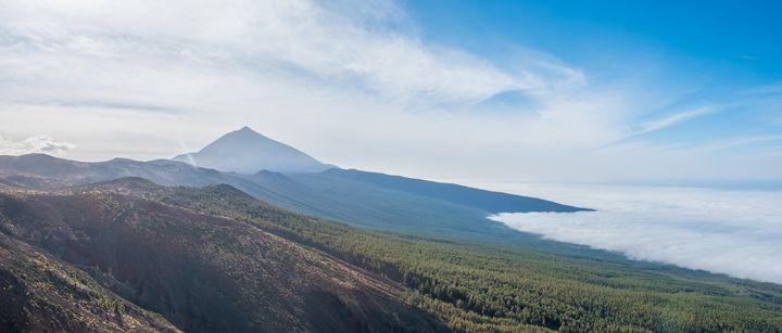 Tenerife, Pico del Teide Panorama - hanoh iki