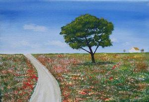 A summer's walking in Meadow - GraemesArt