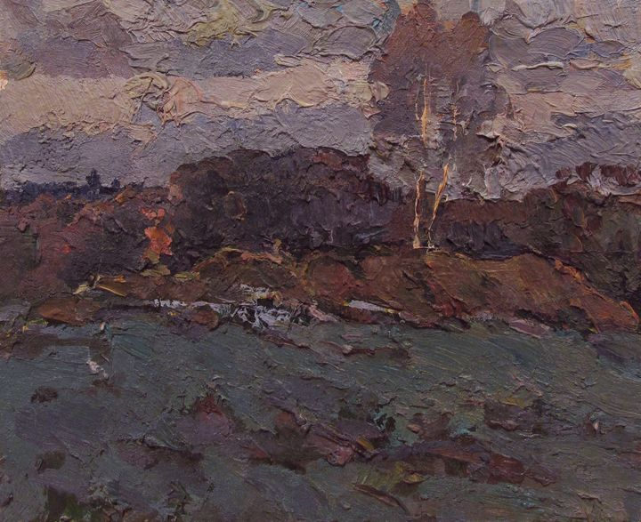 Birches - Vasily Belikov's Art