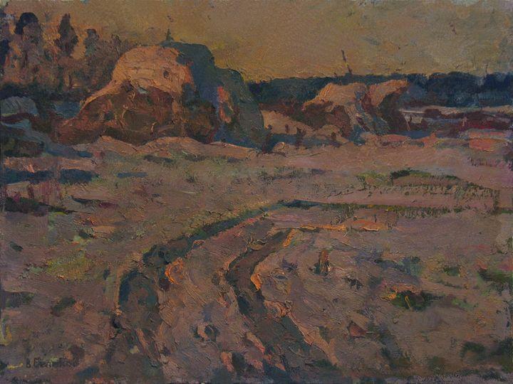 Winter road - Vasily Belikov's Art