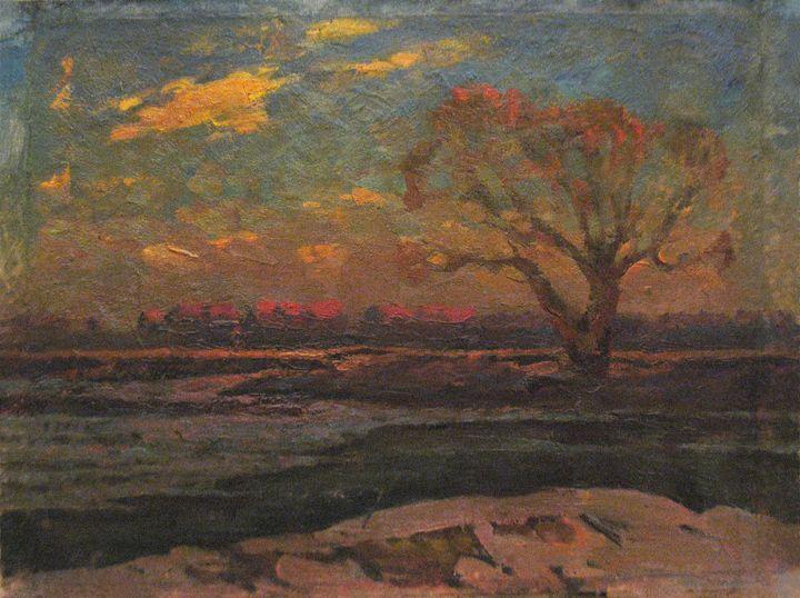 Spring morning - Vasily Belikov's Art