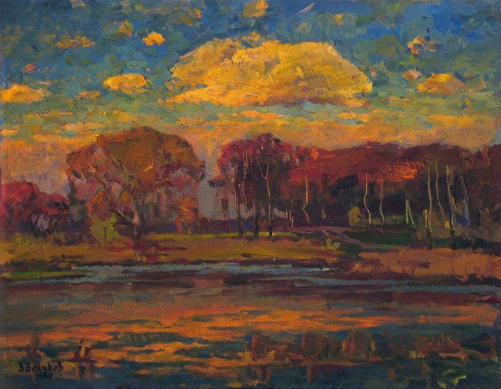 Pink cloud - Vasily Belikov's Art