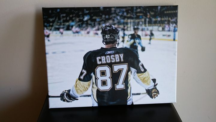 Sidney Crosby - Canvas Art