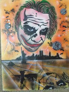 Joker Over NYC