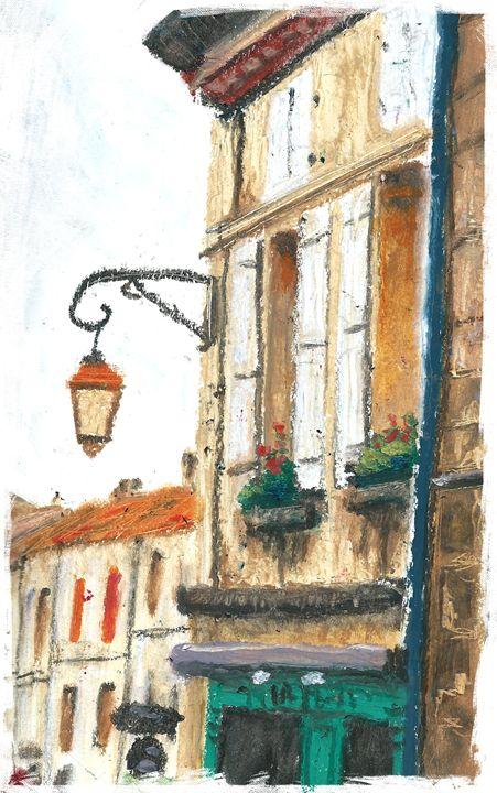Street In Villebois - pHoran