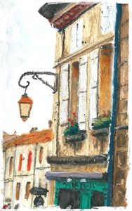 Street In Villebois