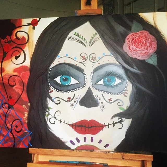Day of the Dead Girl - Maris