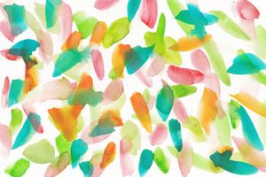 12  | Watercolor Pattern Abstract